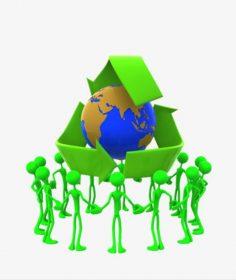 تداول المواد و إدارة النفايات في القانون البيئي المصري