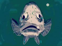 طالب الجامعة العمالية الذي تحول إلى سمكة