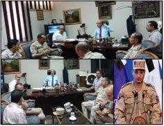 حسان يلتقي قيادات قوات الدفاع الشعبي والعسكري