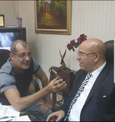 حسان مع الاعلامي حسام عبد المنعم
