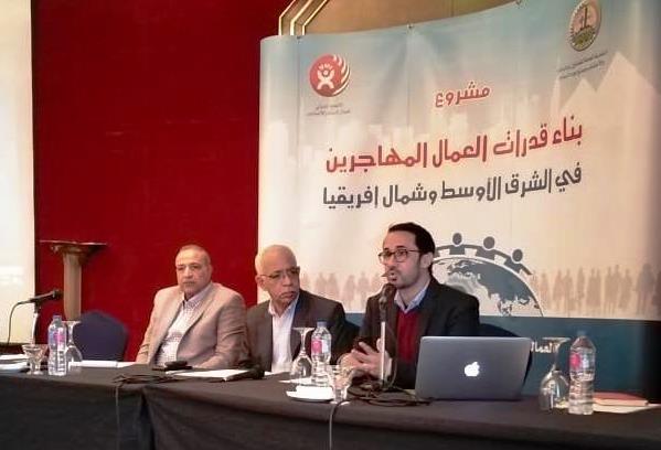 الجمل: المؤسسة الثقافية العمالية شريك أساسي في بناء قدرات العمال المهاجرين المصريين والعرب