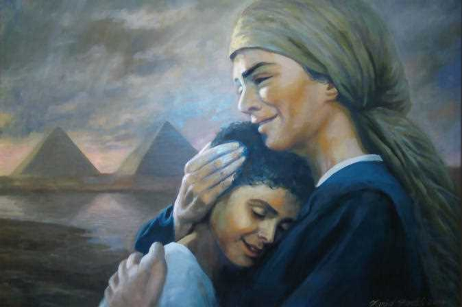 تحية للام المصرية فى عيدها