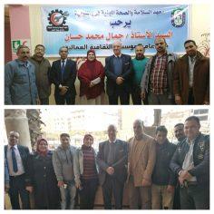 """""""حسان"""" يتابع النشاط التثقيفي بمدينة شبين الكوم"""