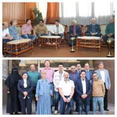 رئيس إتحاد عمال البناء والصناعة والهندسة بدولة بلغاريا : مصر هي أرض الحضارة و التسامح