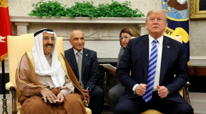 الكويت تنفي تصريحات ترامب